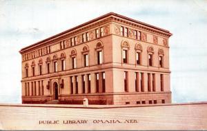 Public Library Omaha Nebraska 1908