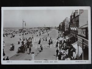 c1914 RP - Rhyl Promenade looking East, Shows JACKSON BROS ENGINEERS, Excellent