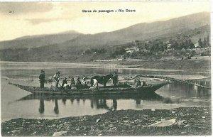 02387 ETHNIC vintage postcard: PORTUGAL - RIO DOURO