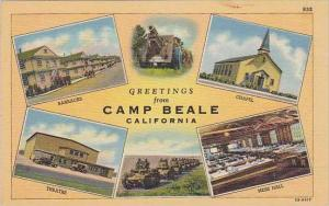 California Camp Beale Greetings From Camp Beale