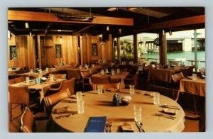 Madeira Beach FL, Gene's Lobster House Restaurant, Chrome Florida Postcard