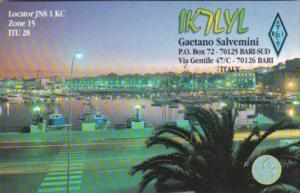Amateur Radio IK7LYL Gaetano Salvemini Bari Italy