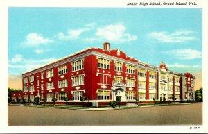 Nebraska Grand Island Senior High School Curteich