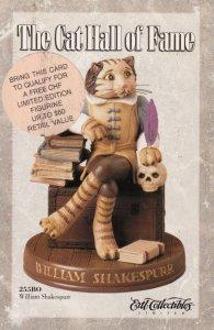 Cat Hall of Fame Figurine , William Shakespurr , 1998