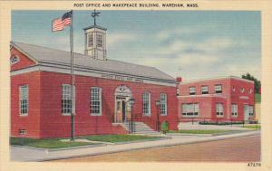 Post Office and Makepeace Building Wareham Massachusetts