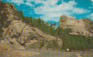 South Dakota Mount Rushmore National Monument 1960