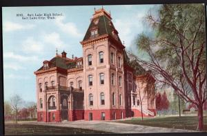 Utah ~ Salt Lake High School SALT LAKE CITY Divided Back