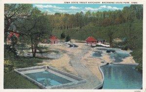 BACKBONE STATE PARK, Iowa 1900-10s; Trout Hatchery