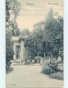 Unused Old Postcard FURSTENGRUFT Weimar Germany F5475