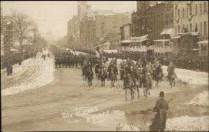President Taft Inauguration Washington DC Real Photo Postcard #12 jrf