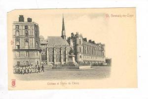 Chateau Et Statue De Thiers, Saint-Germain-en-Laye (Yvelines), France, 1900-1...