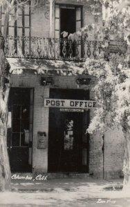 RP: COLUMBIA , California , 1930-40s ; Post Office ; Zan Y-15
