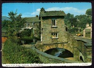 House on the Bridge,Ambleside,The Lake District,England,UK BIN