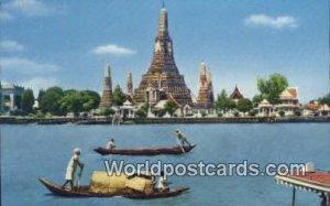 Temple of Dawn Thonburi Thailand Unused