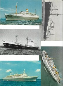Holland America Line - Steamer Ships Postcard Lot of 10 01.11