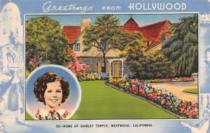 Home of Shirley Temple Westwood, California USA 1941