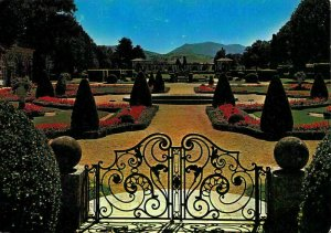 France Cambo Les Bains Arnaga Edmond Rostand's Home Gardens Baigura Postcard
