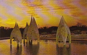 Illinois Belleville Angelus Bells At Sunset