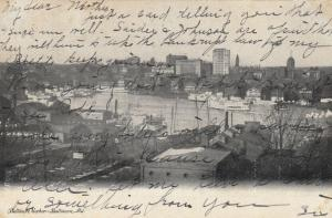 BALTIMORE, Maryland; 1907 ; Baltimore Harbor, Boats