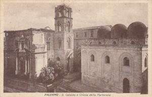 Italy Palermo San Cataldo e Chiesa della Martorana