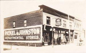RP: NORTH BATTLEFORD , Saskatchewan , 00-10s ; CLOTHES FOR MEN Store , Mn St.