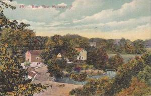 Illinois Waukegan River View