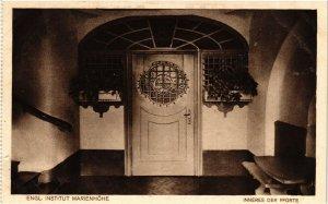 CPA AK Simbach Engl.Institut Marienhohe Inneres der Pforte GERMANY (891929)