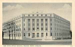 RALEIGH NORTH CAROLINA~NEW STATE OFFICE BUILDING POSTCARD