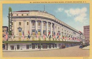 Eastman Theatre and Eastman School of Music, Rochester, New York,  30-40s