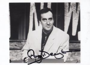 Angus Deayton Have I Got News For You Large Hand Signed Photo