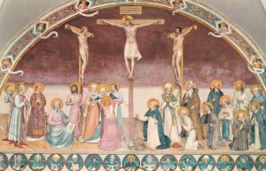 The Crucifixion and Saints, 1950-1960s
