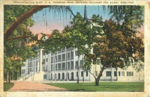 Administration Bldg. US Veterans Home Between Gulfport an...