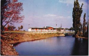 Motel Coin Joli Beaumont QC Que Unused Vintage Postcard D48