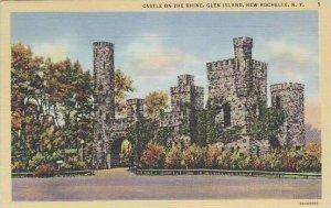New York New Rochelle Castle On The Rhine Glen Island