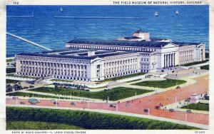 The Field Museum Of Natural History  Chicago Illinois Vintage Linen Post Card