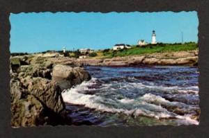 ME Two Lights Park Lighthouse CAPE ELIZABETH MAINE PC