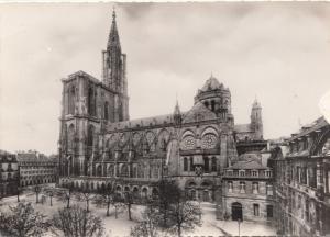 STRASBOURG, Cathedrale, cote sud, Cathedral, unused Postcard