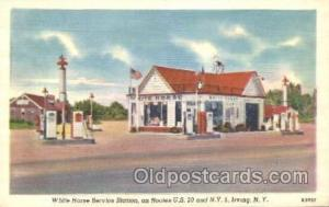 White Horse Service Station, Irving New York, N.Y., USA Gas Station Stations ...