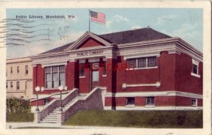 1922 PUBLIC LIBRARY, MARSHFIELD, WIS.
