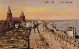KOLN a Rh., Germany, PU-1912; Kaiser Friedrich-Ufer