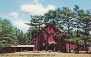 Massachusetts Lincoln The Barn At Drumlin Farm 1982