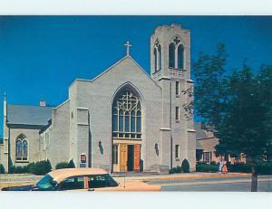 Unused Pre-1980 CHURCH SCENE Las Vegas Nevada NV G3389