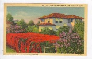 The Flame Vine & Spanish Type Home In Florida, Orlando, Florida, 1930-1940s