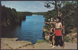 Indians,High Rock,Wisconsin Dells,WI Postcard