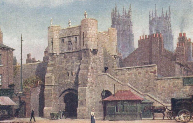 YORK, England, 1900-10s; Bootham Bar, TUCK #7698