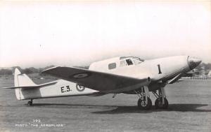 British England AIRPLANE RPPC c30-40s De Havilland Dh.93 Don 18