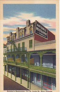 Antoine's Restaurant New Orleans Louisiana