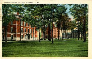 ME - Waterville. Colby College Campus
