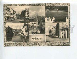 3172486 GERMANY Aue Vintage photo collage postcard