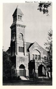 MA - Monson. Memorial Hall